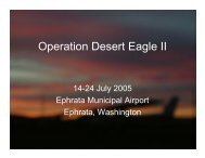 2005 Desert Eagle Flight Academy II Annual