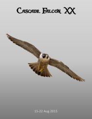 2015 Cascade Falcon Encampment XX Annual