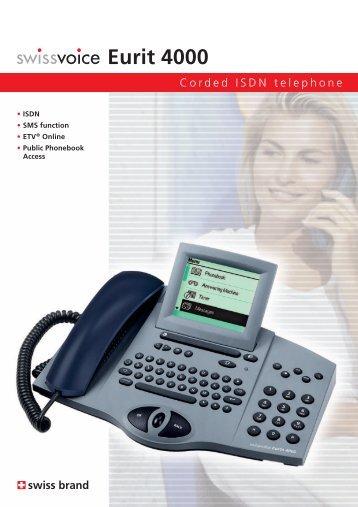 Eurit 4000 - Swissvoice.net