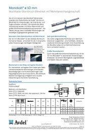 Monobolt 10 mm - Avdel Global