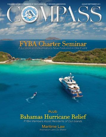 Aug/Sept 2011 - Florida Yacht Brokers Association, Inc.