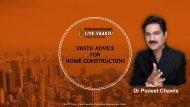 VASTU ADVICE FOR HOME CONSTRUCTION