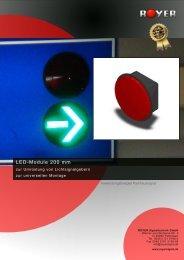 LED-Module 200 mm - Royer Signaltechnik GmbH
