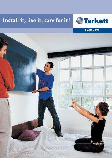 Installation guide - Tarkett for the Home