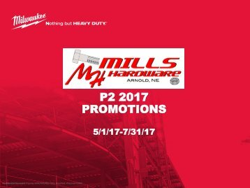 2017 P2 Promotions - Customer Copy