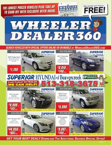 Wheeler Dealer Issue 21, 2017