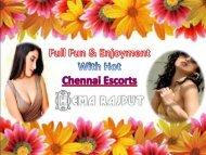 Full Fun and Enjoyment with Chennai Escorts