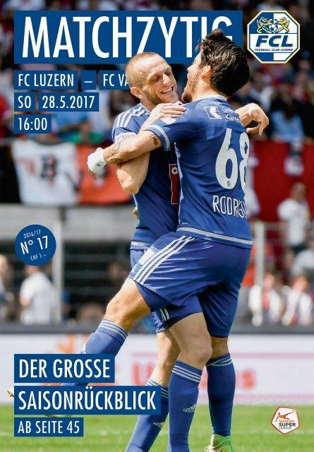 FC LUZERN MATCHZYTIG N°17 16/17 (RSL 35)
