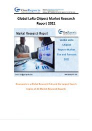 Global LoRa Chipest Market Research Report 2021