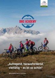 Bike Academy Sextner Dolomiten