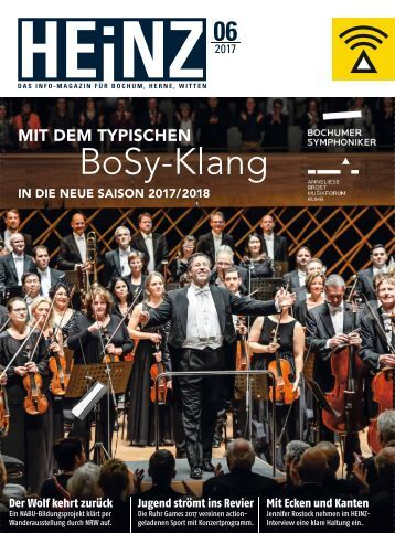 HEINZ Magazin Bochum 06-2017