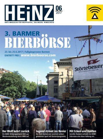 HEINZ Magazin Wuppertal 06-2017