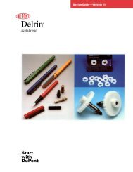 Delrin® Design Guide—Module III - Plastics, Polymers, and Resins ...