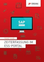 FERCHAU_SAP-Pocket-Guide