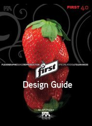 First Design Guide - Flexographic Technical Association