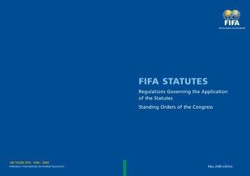FIFA STATUTES - FIFA.com