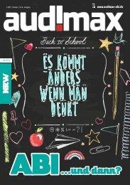 audimax ABI NRW 2.17  - Ausbildung, Ausland, Studium: Du hast die Wahl