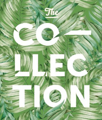 CATALOGUE THE COLLECTION 2017 ENGLISH