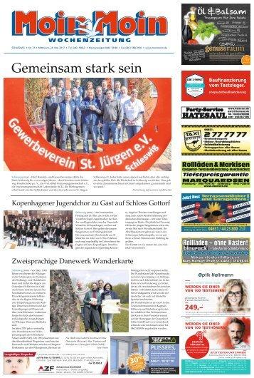 MoinMoin Schleswig 21 2017