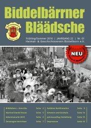 HGV_Biddelbärrner Bläädsche-Sommer 2016_web