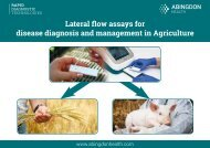 Lateral flow assays for disease diagnosis and management in Agriculture