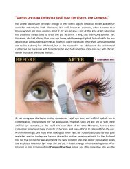 Do Not Let Inapt Eyelash to Spoil Your Eye Charm, Use Careprost