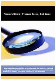Pressure Ulcer Leaflet