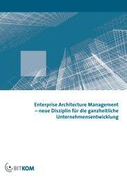 Enterprise Architecture Management – neue Disziplin für die - Detecon