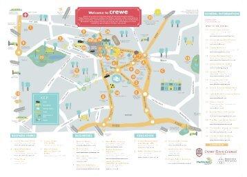 Crewe Map