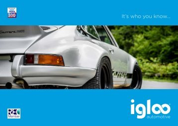 Igloo Automotive Brochure singles