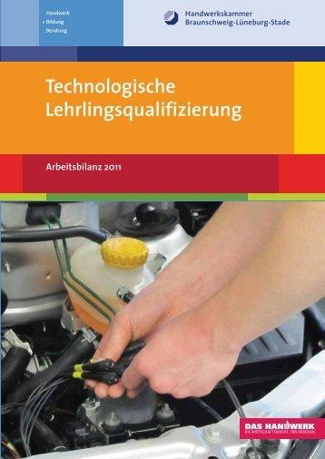 Technologische Lehrlingsqualifizierung - Handwerkskammer ...