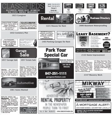 NS Classifieds 052517
