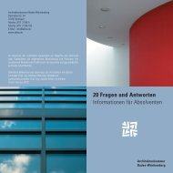 PDF, 2354 KB - Architektenkammer Baden-Württemberg