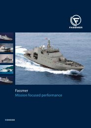 brochure naval vessels (PDF | 1.1 MB) - Fr. Fassmer GmbH & Co. KG