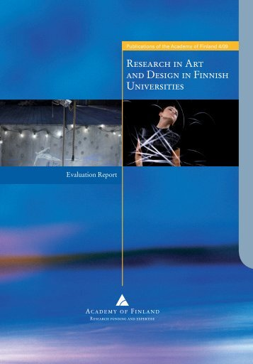 4/09 Research in Art and Design in Finnish Universities