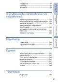 Sony NEX-5K - NEX-5K Guide pratique Hongrois - Page 4
