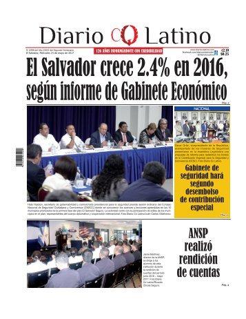 Edición 24 de mayo de 2017