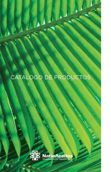 Catalogo de productos Naturaceites