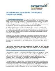 Reset Integrated Circuit Market