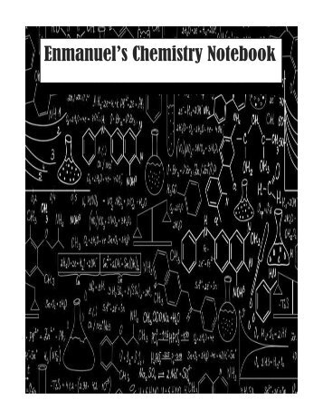 Chem Notebook COmplete