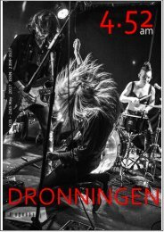 4.52am Issue: 035 25th May 2017 - The Dronningen Issue