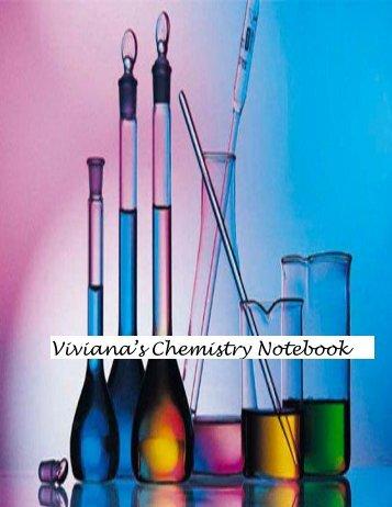 Viviana's Chemistry Notebook