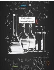 Chemistry Notebook Lopez