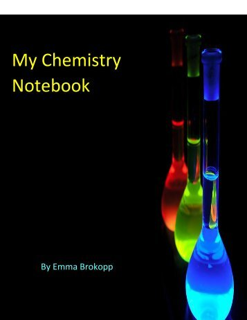 chemistry notebook