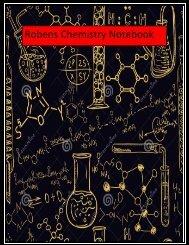 Chem Notebook- Tassy