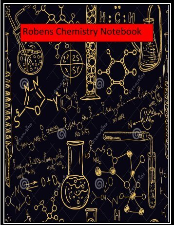 Chem Notebook- Tassy