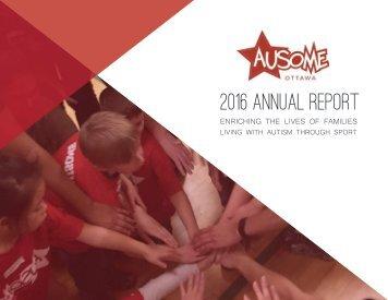 Ausome Ottawa 2016 Annual Report