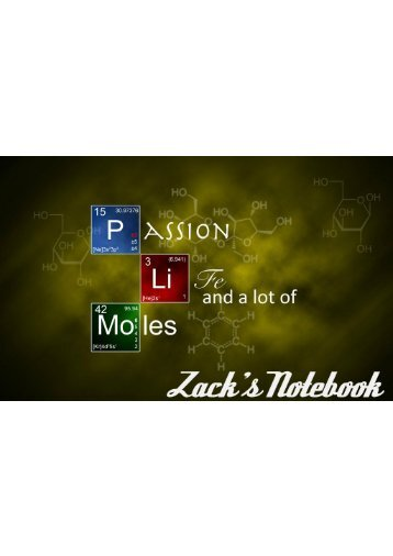 FINAL CHEMISTRY Notebook