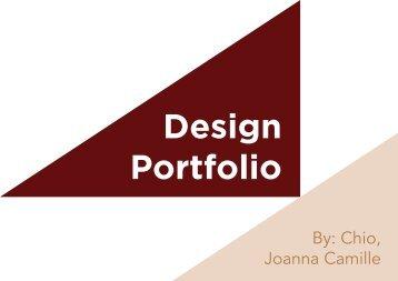 Chio - Design Portfolio