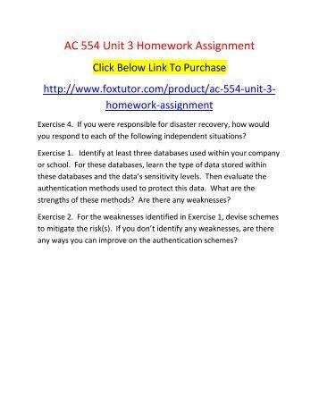 Nt1310 unit 3 homework